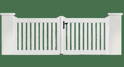 Portail PVC Hémisphère, fabriqué en France