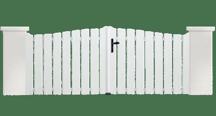 Portail PVC Marimba, Charuel une fabrication Française.