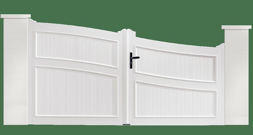 portail PVC contemporain piccolo
