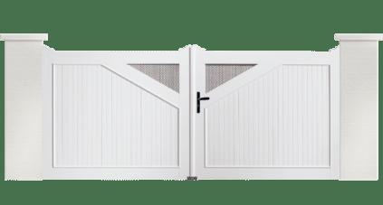 Votre portail PVC Timballe, une fabrication Française et sur mesure