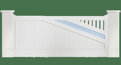 Portail PVC Violon Charuel : le sur mesure et fabriqué en France
