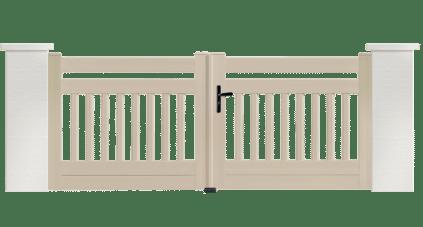Portail PVC Xylophone, une fabrication française et sur mesure