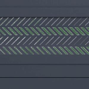 http://zoom-motif-chevrons-cloture-alu