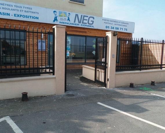 Pose de portails et clôtures en Alu & PVC par NEG FERMETURES