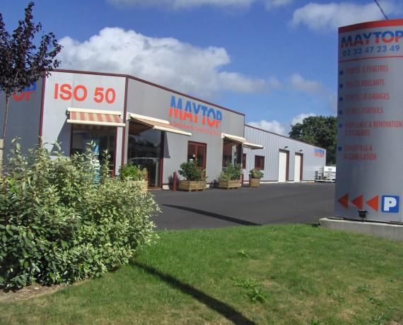 ISO 50, pour la pose de portails et clôtures sur mesure