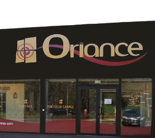 Devanture de votre installateur Oriance Charuel à Vannes