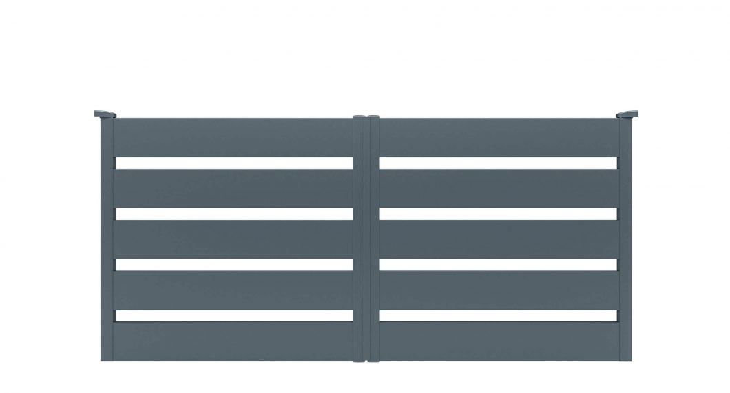Portail aluminium Limorite par Charuel