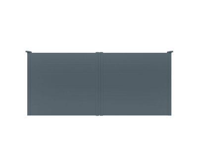 Portail aluminium Oreka par Charuel
