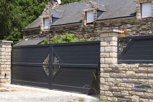 Portail et clôture aluminium Disco de Charuel