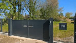 Portail Quartz installé par Clôtures de Seine en Seine-Maritime