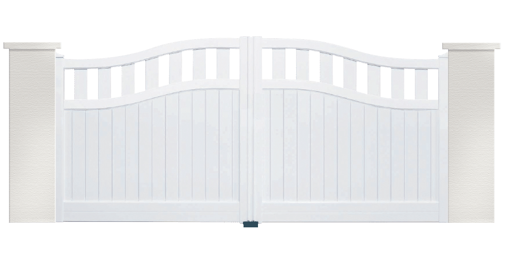 portail aluminium contemporain scottich