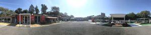 Vue panoramique du magasin et expo portails de notre professionnel Charuel à Le Muy (83)