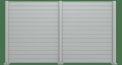 Claustra aluminium modèle Palisota, fabrication française et sur mesure. Charuel fourniture et pose de portails, clotures et claustras