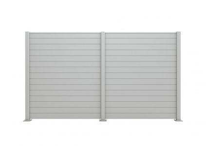 Claustra aluminium modèle Palisota de la gamme Les Contemporains Charuel
