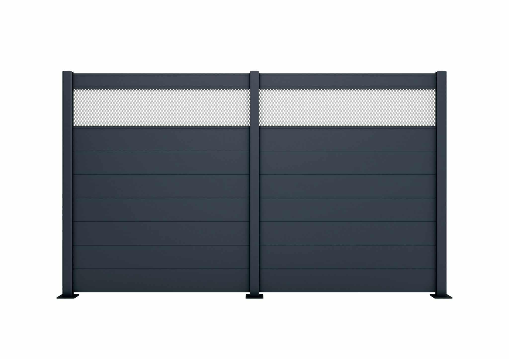 claustra aluminium plumbago les contemporains charuel. Black Bedroom Furniture Sets. Home Design Ideas