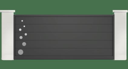 portail aluminium contemporain jurtinia