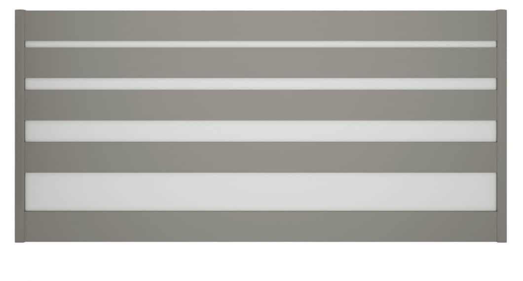 Condensé des dernières tendances en matière de coloris et de design, le portail aluminium Lysandra est sur-mesure !