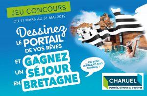 Tentez de gagner un w-d en Bretagne avec les installateurs de portails Charuel