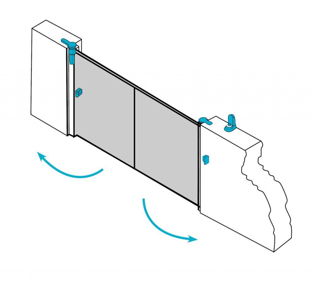Discrète et esthétique la motorisation invisible pour votre portail battant Alu ou PVC . Et Jusqu'au 30 novembre 2019 vos installateurs Charuel vous font profiter de 25% de remise sur la motorisation Invisio .