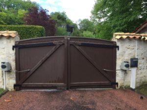 Ancien portail Puymoyen