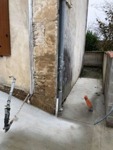 Emplacement motorisation portail vant sa pose à Asnières sur Nouère