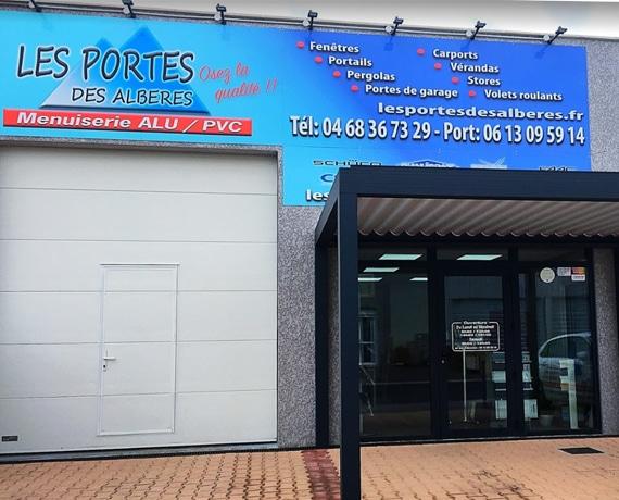 Les portes des Albères votre professionnel Charuel spécialiste du portail, cloture et claustras à Argelès sur Mer