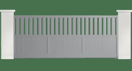 portail aluminium contemporain cytise