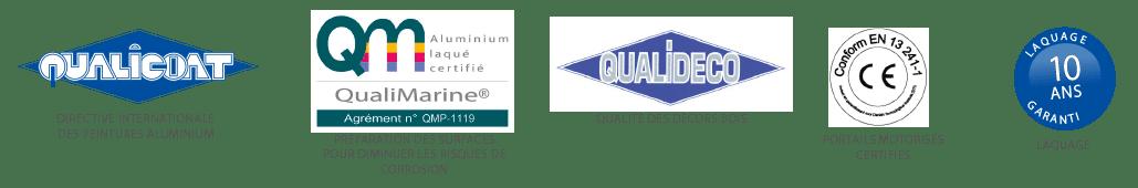 Une qualité garantie par les normes et labels les plus exigeants du marché du portail