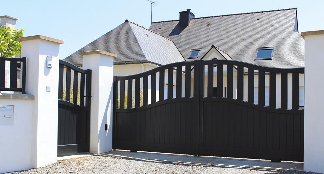Portillon et portail aluminium Mambo