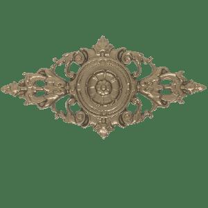 Rosace Jura portail alu tradition