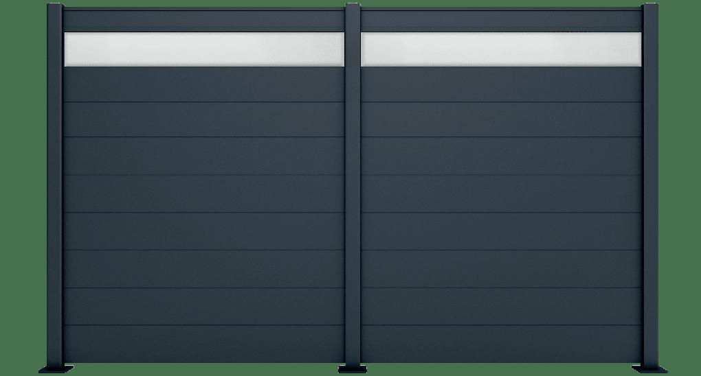 Holia est un claustra en aluminium de la marque Charuel. Fabricant et installateur de portails, clôtures et claustras sur mesure.