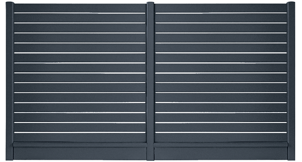 Votre claustra aluminium YLANG, fabrication française et pose par des professionnels proche de chez vous